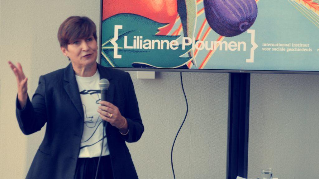 Lilianne Ploumen @ IISG - Festival van de Opstand