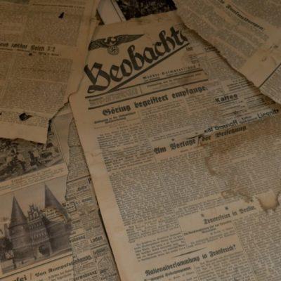 De Duitse kranten uit het dak van Andrzej